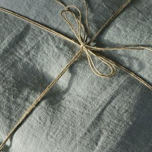 linge de maison en lin lavé draps housse