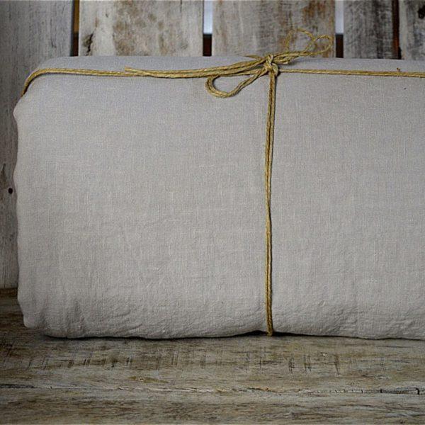 linge de maison en lin lavé housse de couette fabrication française
