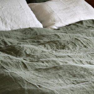 linge de maison en lin lavé pour une décoration naturelle