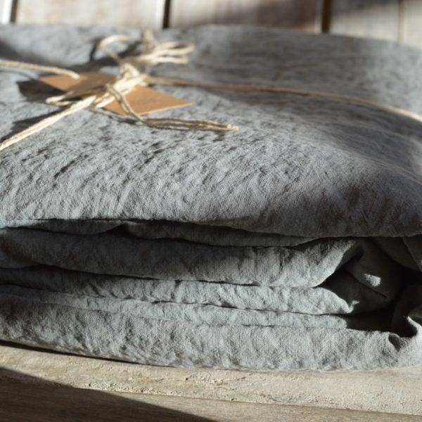 linge de maison en lin lavé fabriqué en france